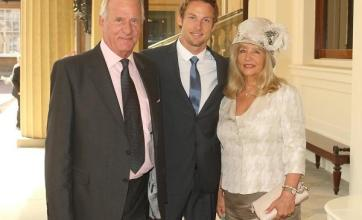 Jenson Button's mother evacuated
