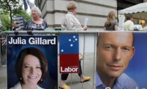 Australian voters could not split Julia Gillard and Tony Abbott (PA)