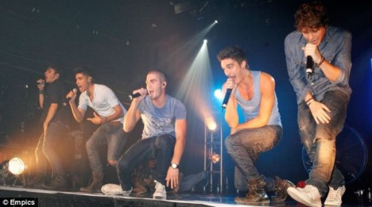 The Wanted perform at the G.A.Y club night at Heaven in London (with clothes on)