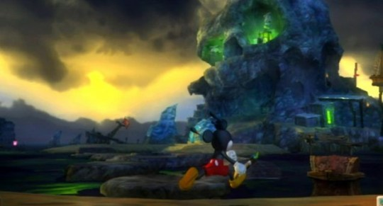 Epic Mickey - making the effort