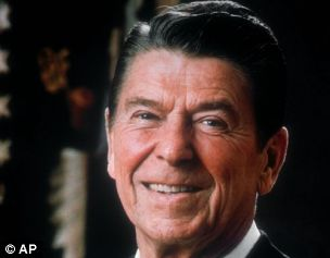 Former President Ronald Reagan: now available in email form