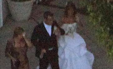 Robbie Williams marries Ayda Field at his Beverly Hills mansion