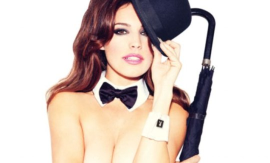 Kelly Brook does her thing for Playboy Magazine
