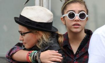 Madonna finds time for family bonding on W.E. film set