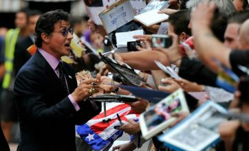 The Expendables premiere: Sylvester Stallone wants to be a 'role model'
