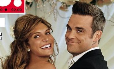 Robbie Williams and Ayda Field had 8 dogs for bridesmaids