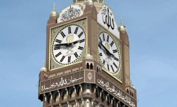 Mecca clock to replace Big Ben and GMT as 'centre of time'?