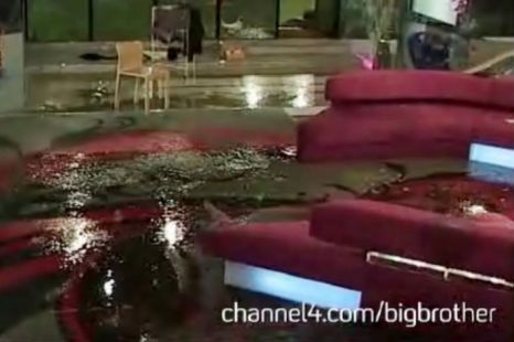 Big Brother house flooded