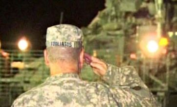 Cheers as combat troops leave Iraq