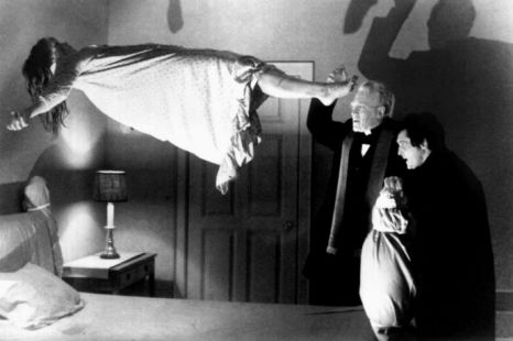 Linda Blair, Max Von Sydow and Jason Miller in The Exorcist: The Power of Christ compels you!