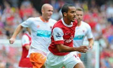 Arsene Wenger hails the new 'calm' Theo Walcott