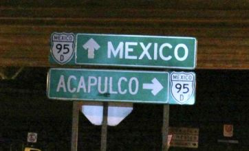 Four headless bodies found hanging from Mexican bridge