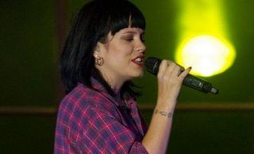 Lily Allen blasts 's***' X Factor