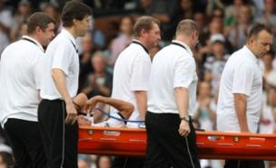 Bobby Zamora will be out for at least four months (PA)