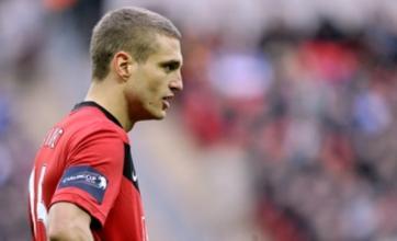 Rio Ferdinand snubbed for Nemanja Vidic in Man United captaincy race