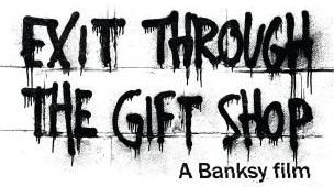 Entertaining: Banksy takes on the scene in Exit Through The Gift Shop