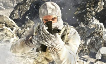 Gary Oldman and Ed Harris in Call Of Duty: Black Ops