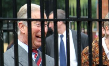 Prince Charles opens bee hive at Ouseburn Community Farm