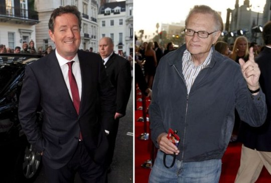 Britain's Got Talent judge Piers Morgan will replace CNN's Larry King in January