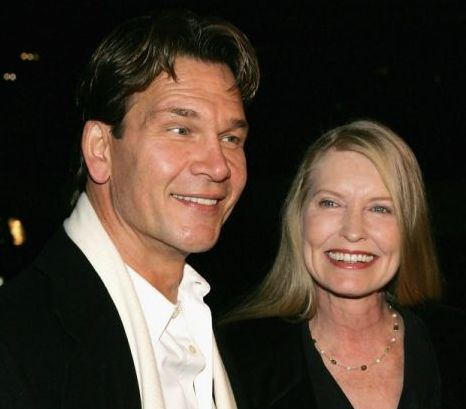 Patrick Swayze and wife Lisa Niemi (Photo: Getty Images)