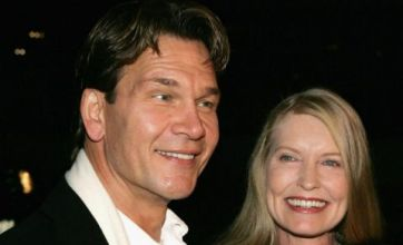 Patrick Swayze wife sends text to his Ghost