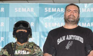 Cornered Sergio Villareal Barragan arrested in Mexican drug war