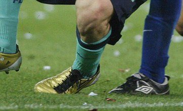 Lionel Messi ankle injury pictures: Ouch!