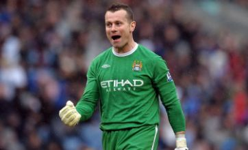 Newcastle's Chris Hughton denies Shay Given loan rumours