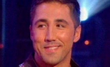 Gavin Henson struggling with Strictly dance moves
