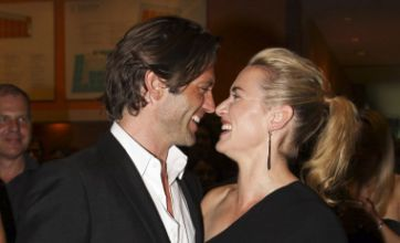 Kate Winslet shows off model Louis Dowler after Sam Mendes divorce