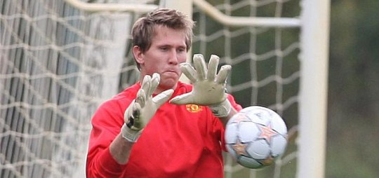 I'll quit: Tomasz Kuszczak has issued Sir Alex Ferguson with an ultimatum