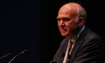 Bank basher Vince Cable rounds on City 'spivs and gamblers'