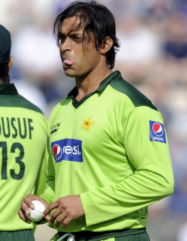 Pakistan's Shoaib Akhtar