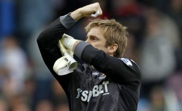 Pictures: Robert Green swears at press after West Ham beat Spurs