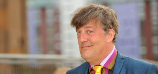 Stephen Fry: Signed up to play Mycroft Holmes in Sherlock 2