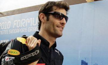 Mark Webber facing nervous run-in for Formula One world title