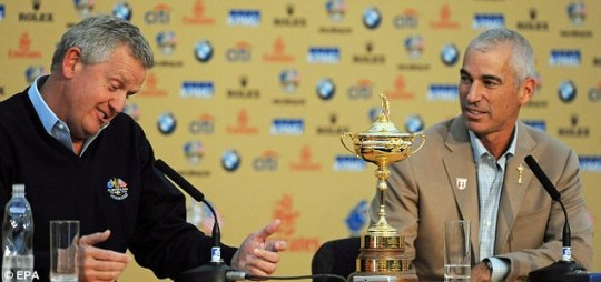 European Ryder Cup captain Colin Montgomerie is predicting a tight tussle at Celtic Manor