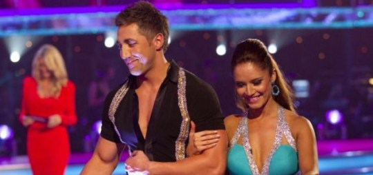 Gavin Henson, pictured with Strictly partner Katya Virshilas, could still play for the Barbarians (BBC)