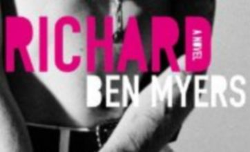 Richard: A Novel by Ben Myers is rather repulsive
