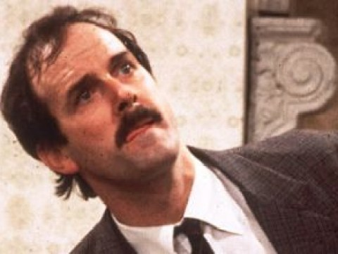 John Cleese introduces the new Basil Fawlty, and this is what he looks like