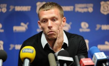 Craig Bellamy to miss Wales' Euro 2012 qualifiers due to knee injury