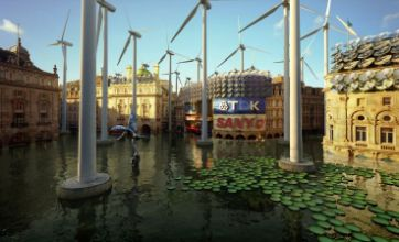 'Postcards from the future' show London devastated by climate change