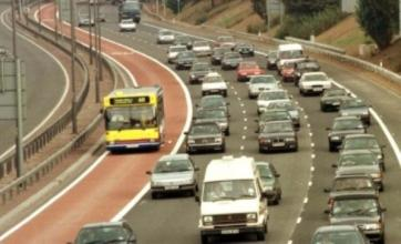 M4 bus lane to be scrapped