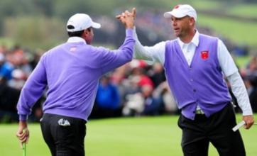 Ryder Cup: USA extend lead thanks to Stewart Cink and Matt Kuchar
