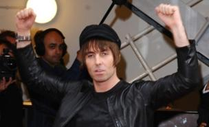 Liam Gallagher is ready for the big red balls (PA)