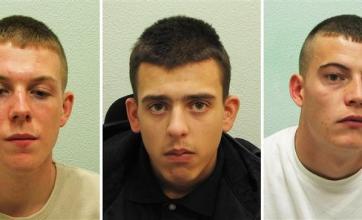 Three found guilty of Ben Gardner Halloween hat murder