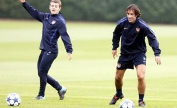 Robert Pires set to swap Arsenal for Crawley Town