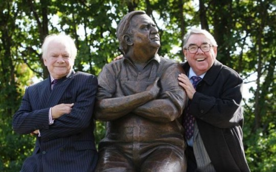 Ronnie Barker statue