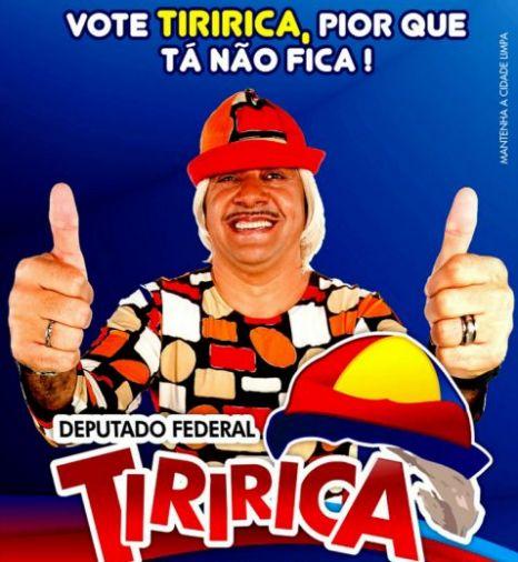 Brazilian clown Tiririca