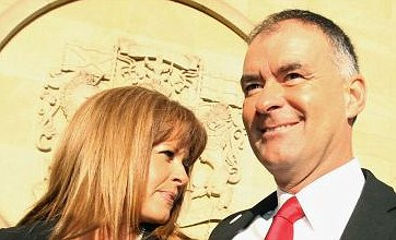 Ex-politician 'admitted visiting swingers' club'